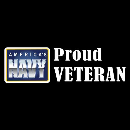 Proud Navy Veteran - Logo (N31)