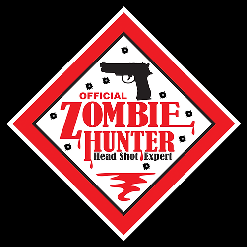 Official Zombie Hunter - Sign (PVC-63)