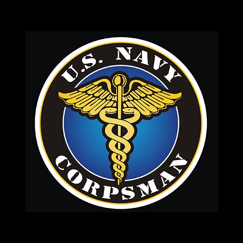 U.S. Navy Corpsman Insignia (N38)