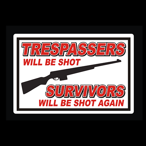 Trespassers/Survivors - Red/White (G262)