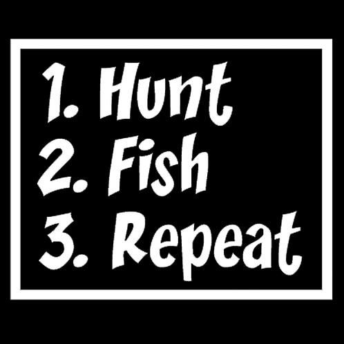 Hunt Fish Repeat (H13)