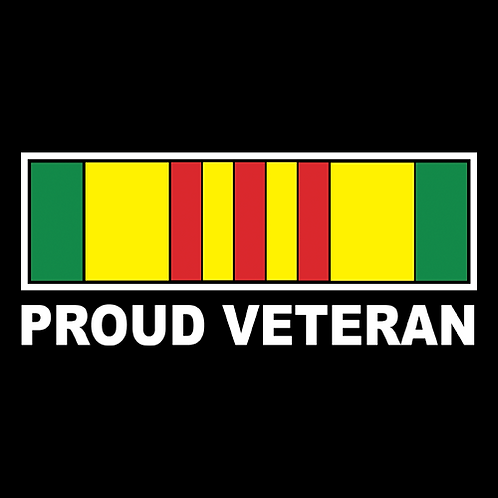 Proud Vietnam Veteran - Single Line (V3A)