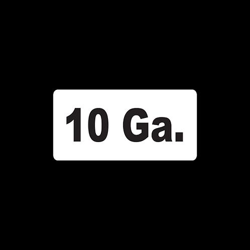 10 Ga. (AM30)