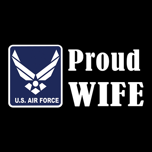 Proud Air Force Wife - Logo (AF15)