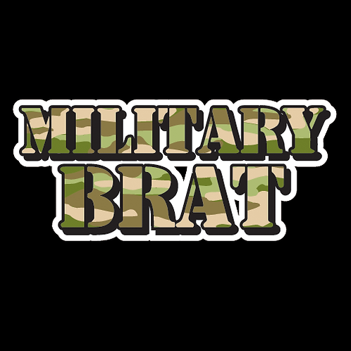 Military Brat - Green Camouflage (MH7)