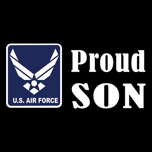 Proud Air Force Son - Logo (AF25)
