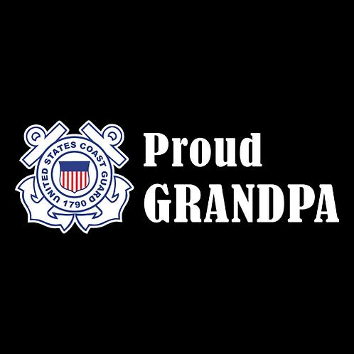 Proud Coast Guard Grandpa - Logo (CG23)