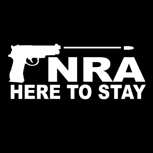NRA Here To Stay - Pistol (G48)