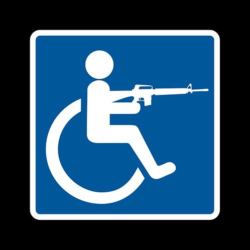 Handicap - The Equalizer - Sign  (PVC-92)