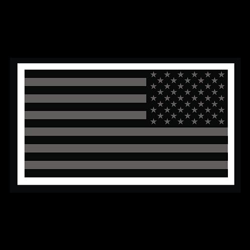 Black American Flag - Reversed (MIL34B)
