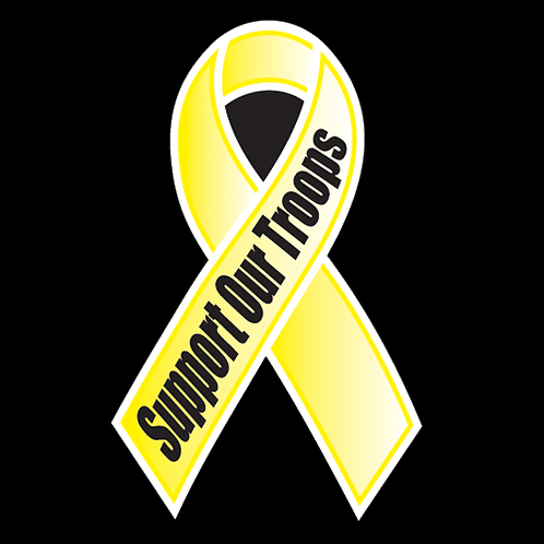 Support Our Troops Ribbon (MIL4)