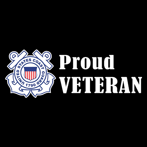Proud Coast Guard Veteran - Logo (CG28)