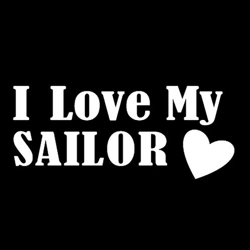 I Love My Sailor - Square (N5)