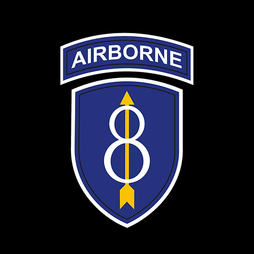 8th Infantry Division Airborne Insignia (A45)