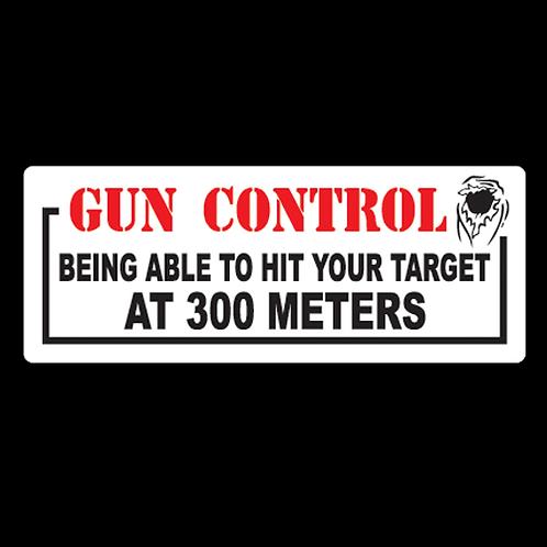 Gun Control - 300 Meters (G58)