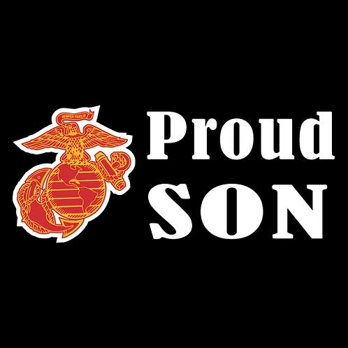 Proud Marine Son - Logo (M27)
