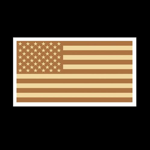 Tan American Flag (MIL32A)