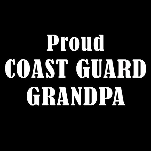 Proud Coast Guard Grandpa (CG14)
