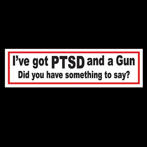 PTSD And A Gun (MH21)