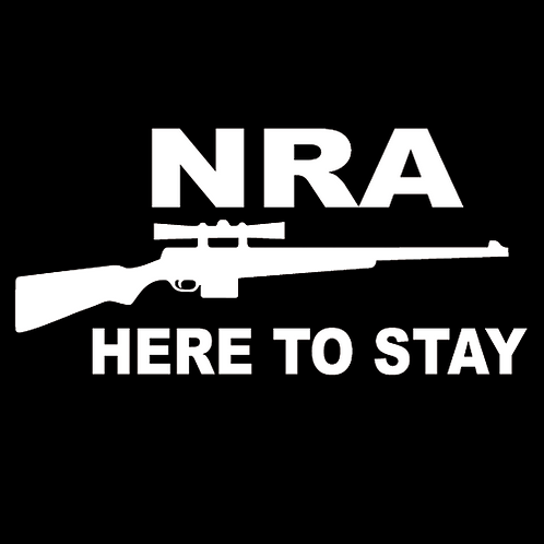 NRA Here To Stay - Sniper Rifle (G49)