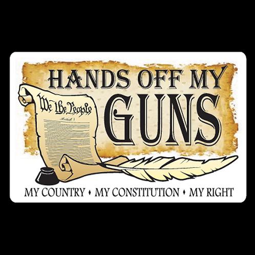 Hands Off My Guns (G126)