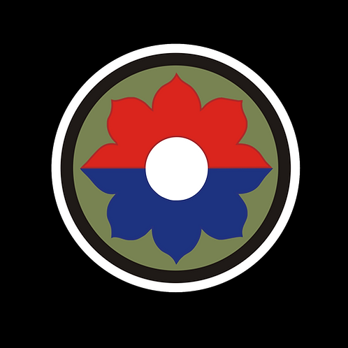 9th Infantry Division Insignia (A43)