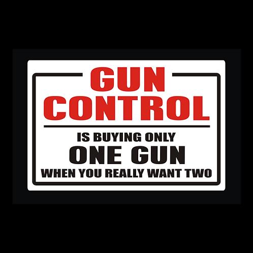 Gun Control - Buying One Gun (G308)