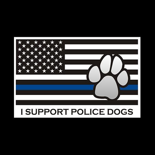 Blue Line K9 - Support Police Dogs (MIL66)