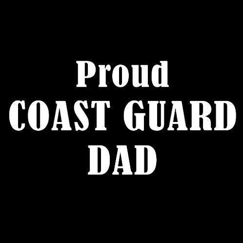 Proud Coast Guard Dad (CG3)
