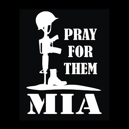 MIA Fallen Soldier - Pray For Them (MIL24)