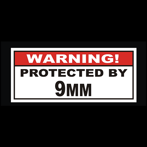 Protected By 9MM (G232)