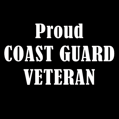 Proud Coast Guard Veteran (CG7)