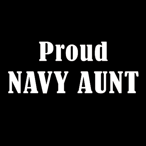 Proud Navy Aunt (N15)