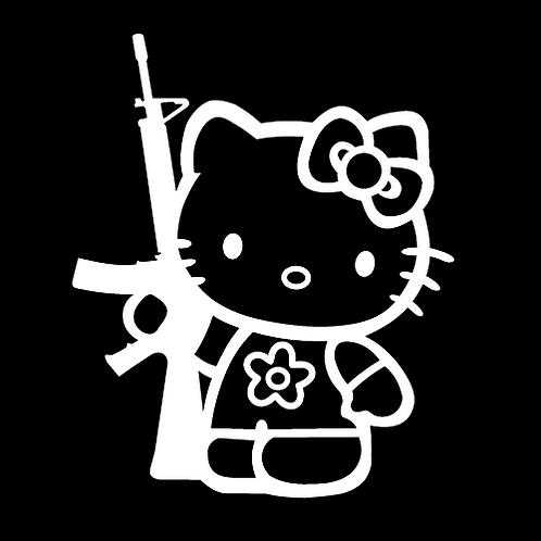 Hello Kitty With AR - White (G182)