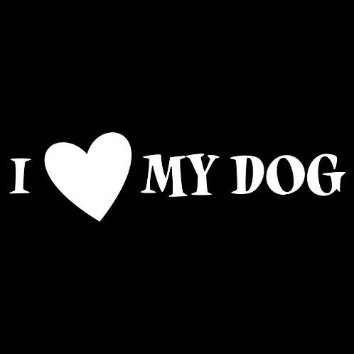 I Love MY Dog - Heart (PD2)