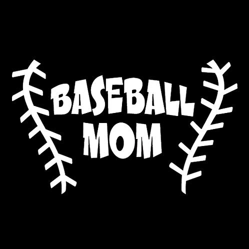 Baseball Mom - Baseball Stitching (BB16)