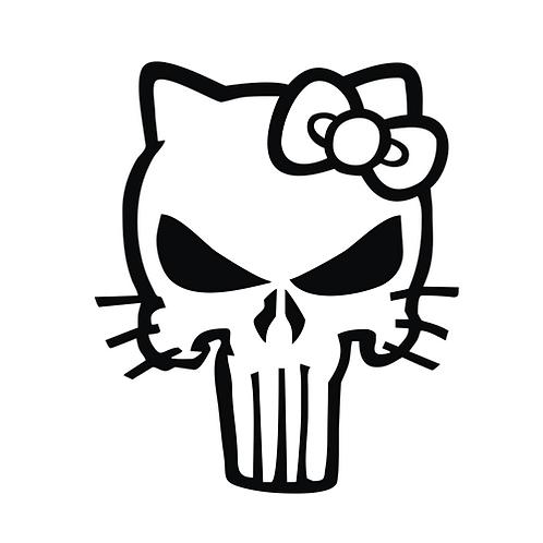 Black Punisher Kitty (SK17)