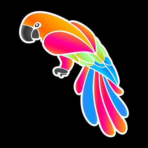 Colorful Parrot (PBI13)