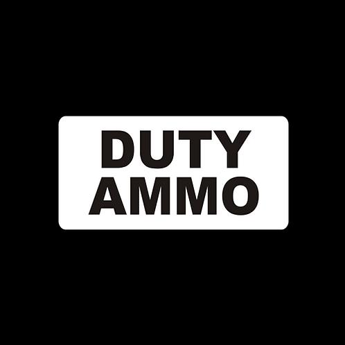 DUTY AMMO (AM59)