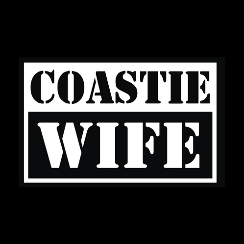 Coastie Wife - Square (CG31)