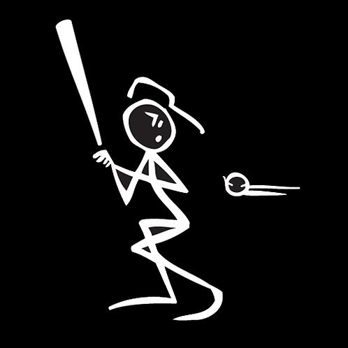 Baseball Stick Figure Player (BB8)
