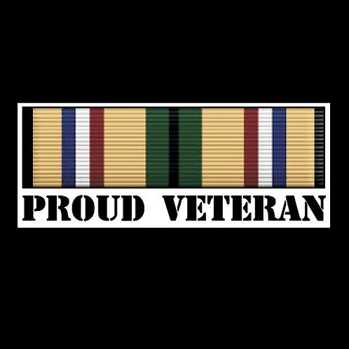 Proud Desert Storm Veteran Ribbon (MIL12)