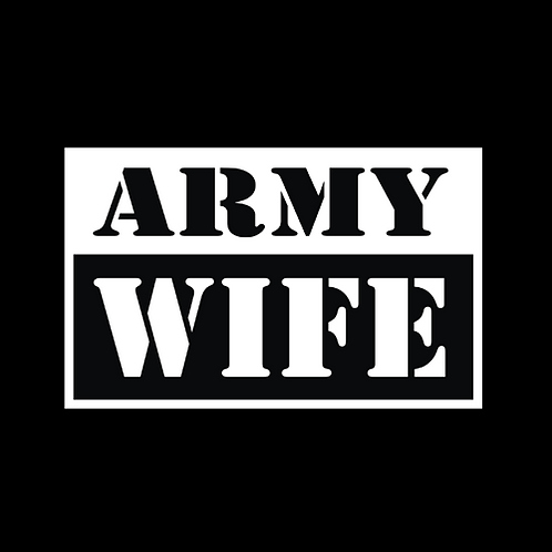 Army Wife - Square (A35)