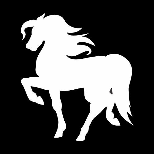 Prancing Horse Silhouette (PH2)