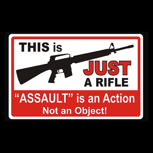 Assault Is An Action (G340)