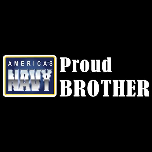 Proud Navy Brother - Logo (N23)