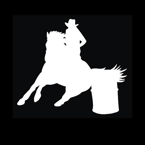 Barrel Racing Horse (W14)