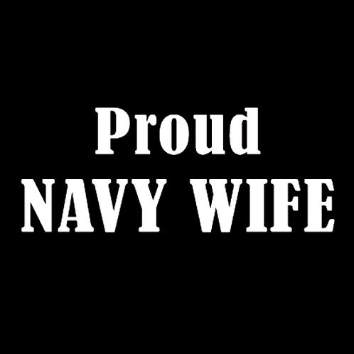 Proud Navy Wife (N1)