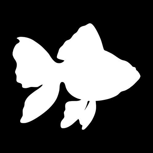 Goldfish Silhouette 2 (PAF7)