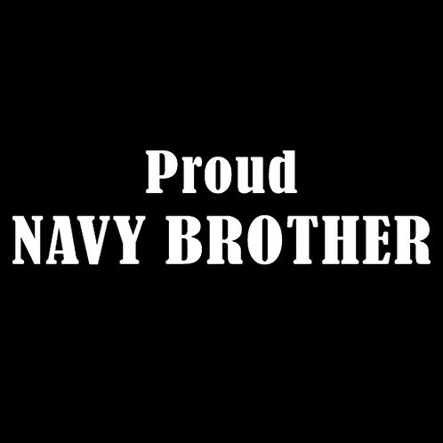 Proud Navy Brother (N17)